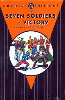SEVEN SOLDIERS OF VICTORY ARCHIVES HC VOL 03