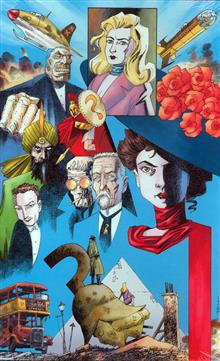 ABSOLUTE LEAGUE OF EXTRAORDINARY GENTLEMEN THE BLACK DOSSIER HC