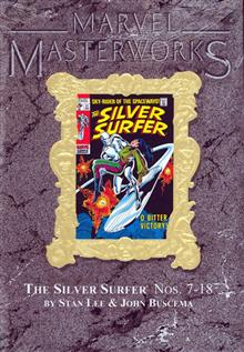 MMW SILVER SURFER HC VOL 02 VAR ED VOL 19
