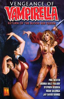 VENGEANCE OF VAMPIRELLA VOL 1 BLOOD RED QUEEN TP