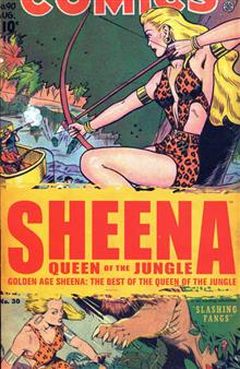 GOLDEN AGE SHEENA BEST OF QUEEN O/T JUNGLE TP VOL 01