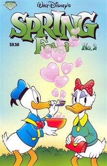 WALT DISNEYS SPRING FEVER TP VOL 02