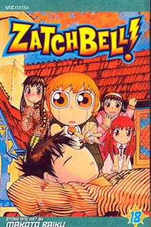 ZATCH BELL GN VOL 18