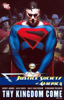 JUSTICE SOCIETY OF AMERICA VOL 2 THY KINGDOM COME PART 1 TP