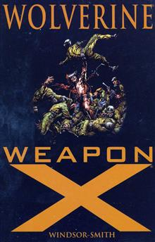 WOLVERINE WEAPON X TP NEW PTG