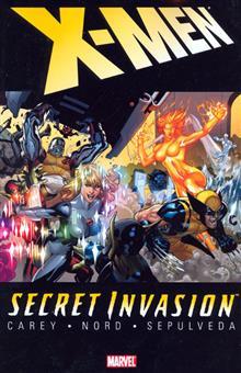 SECRET INVASION X-MEN TP