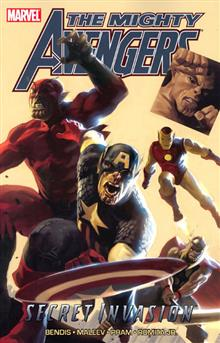 MIGHTY AVENGERS TP VOL 03 SECRET INVASION BOOK 01 DM ED
