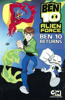 BEN TEN ALIEN FORCE GN VOL 01 BEN 10 RETURNS