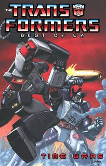 TRANSFORMERS BEST O/T UK TIME WARS TP