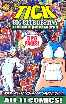 TICK BIG BLUE DESTINY COMPLETE WORKS TP