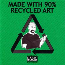 MADE WITH 90% RECYCLED ART TP
