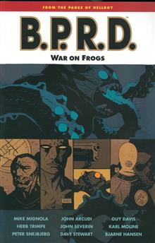 BPRD TP VOL 12 WAR ON FROGS (C: 0-1-2)