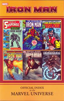 IRON MAN OFFICIAL INDEX TO MARVEL UNIVERSE GN TP