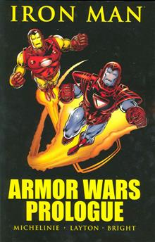 IRON MAN ARMOR WARS PROLOGUE TP