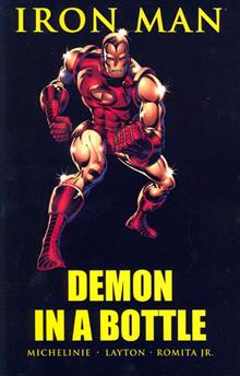 IRON MAN DEMON IN A BOTTLE TP NEW PTG