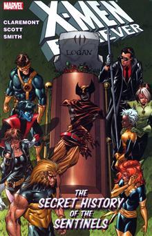 X-MEN FOREVER VOL 2 SECRET HISTORY OF THE SENTINELS TP