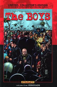 BOYS VOL 5 HEROGASM LTD ED HC (MR)