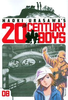 NAOKI URASAWA 20TH CENTURY BOYS GN VOL 08
