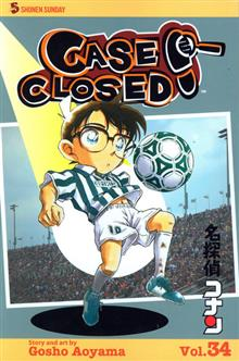 CASE CLOSED GN VOL 34