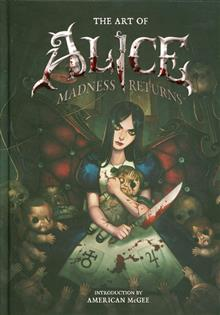 ART OF ALICE MADNESS RETURNS HC