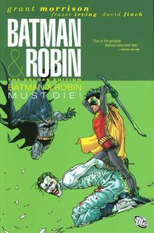 BATMAN AND ROBIN DELUXE HC VOL 03 BATMAN MUST DIE
