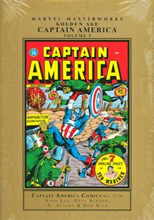 MMW GOLDEN AGE CAPTAIN AMERICA HC VOL 05