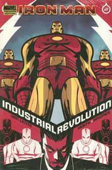 IRON MAN INDUSTRIAL REVOLUTION PREM HC