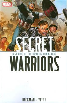 SECRET WARRIORS TP VOL 04 LAST RIDE HOWLING COMMAN