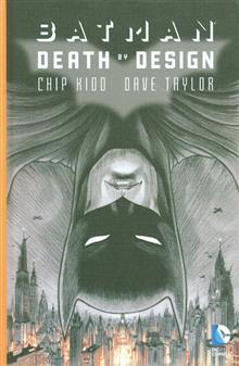 BATMAN DEATH BY DESIGN DELUXE ED HC