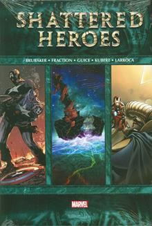 SHATTERED HEROES HC