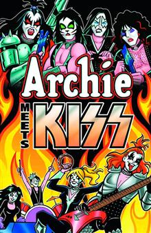 ARCHIE MEETS KISS TP