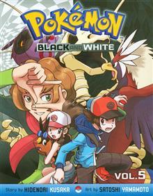 POKEMON BLACK & WHITE GN VOL 05