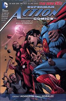 SUPERMAN ACTION COMICS HC VOL 02 BULLETPROOF (N52)