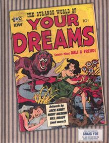 STRANGE WORLD OF YOUR DREAMS COMICS MEET FREUD & D