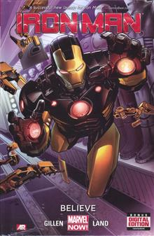IRON MAN PREM HC BELIEVE VOL 01