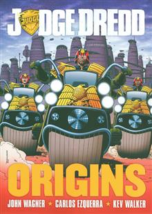 JUDGE DREDD ORIGINS TP (MR)