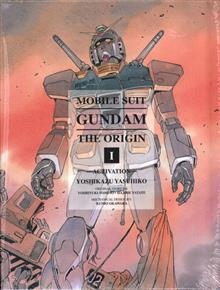 MOBILE SUIT GUNDAM ORIGIN GN VOL 01 ACTIVATION