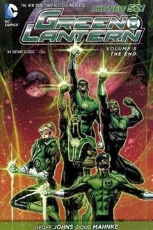 GREEN LANTERN TP VOL 03 THE END (N52)