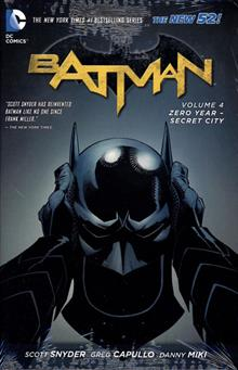 BATMAN HC VOL 04 ZERO YEAR SECRET CITY (N52)