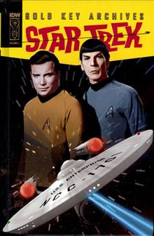 STAR TREK GOLD KEY ARCHIVES HC VOL 01