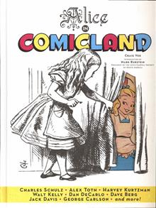 ALICE IN COMICLAND HC