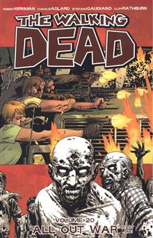 WALKING DEAD TP VOL 20 ALL OUT WAR PT 1 (MR)