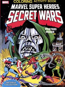 MARVEL SH SECRET WARS ACTIVITY BOOK FACSIMILE COLL TP