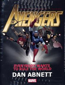 AVENGERS EVERYBODY WANTS RULE WORLD PROSE NOVEL HC