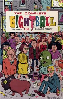 COMPLETE EIGHTBALL HC BOX SET ISSUES 1 - 18 (RES) (MR)