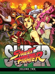 SUPER STREET FIGHTER HC VOL 02 HYPER FIGHTING