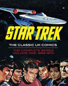 STAR TREK CLASSIC UK COMICS HC VOL 01