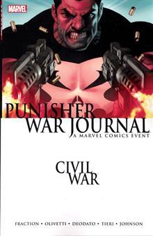 CIVIL WAR PUNISHER WAR JOURNAL TP NEW PTG