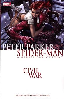 CIVIL WAR PETER PARKER SPIDER-MAN TP NEW PTG
