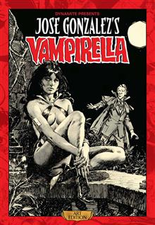JOSE GONZALEZ VAMPIRELLA ART ED HC (MR)